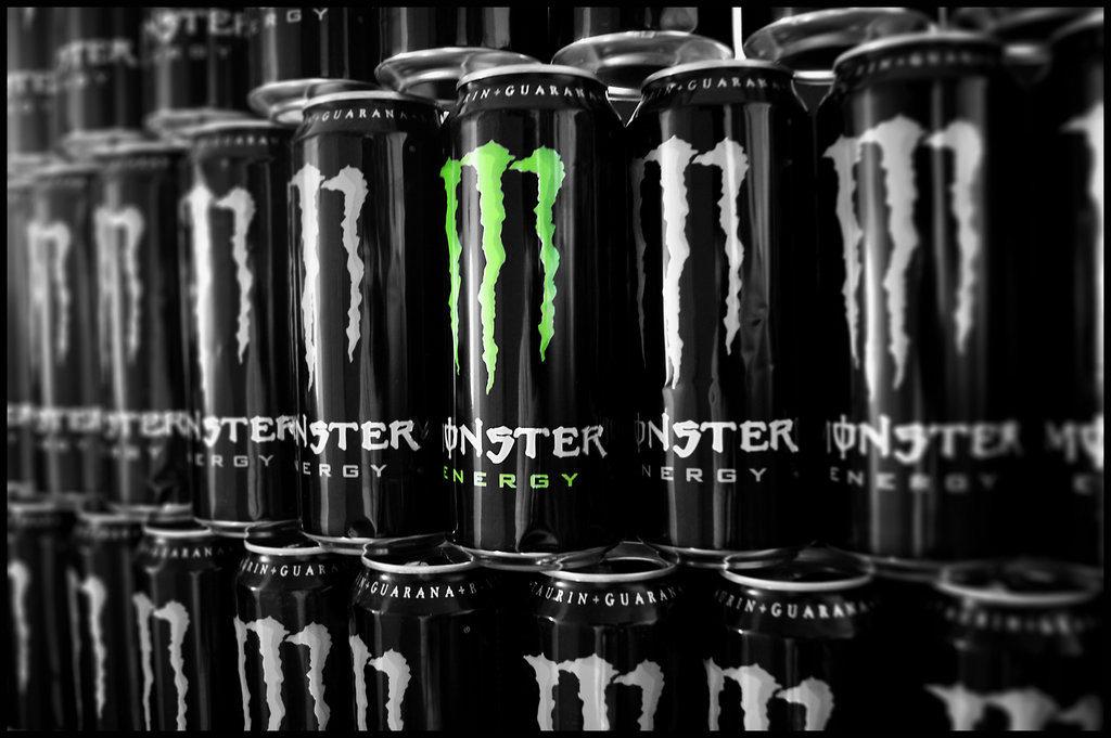 Power By Monster Energy